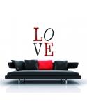 Trafaretas 70x100 cm, Meilė (Love)