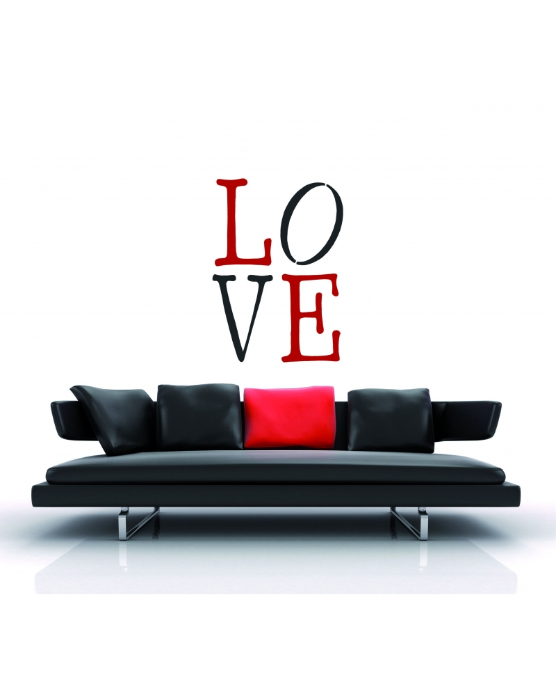 Trafaretai XXL Love