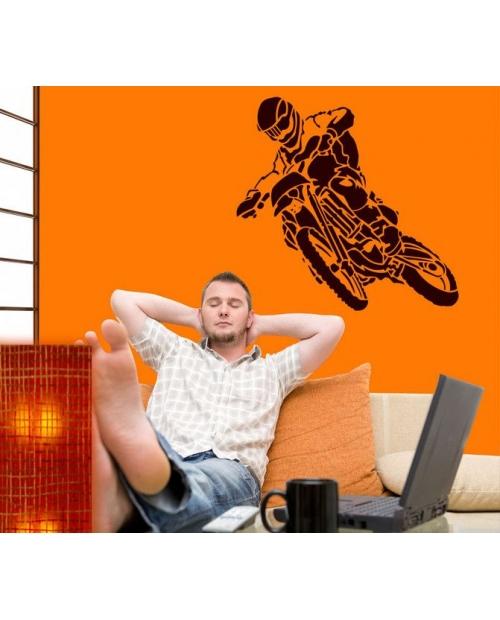 Trafaretas 105x100cm, Motociklas (Motorbike)