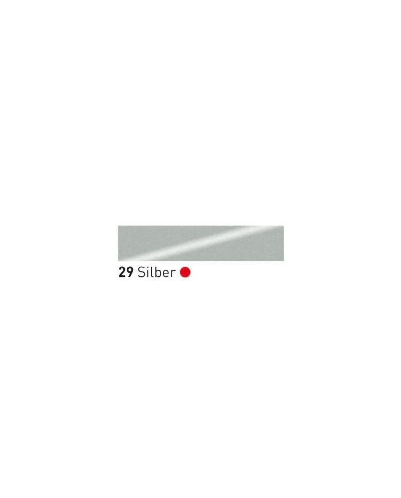 Trafaretų dažai (tūbelė 75ml) Silver