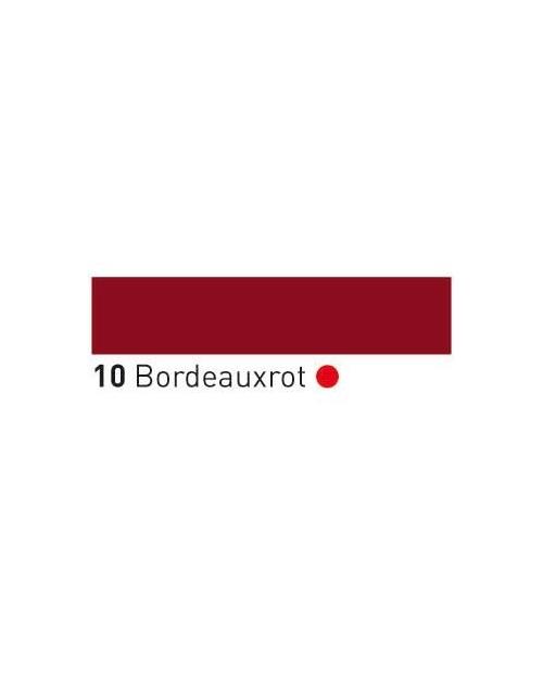 Trafaretų dažai (buteliukas 150ml) Bordeaux Red