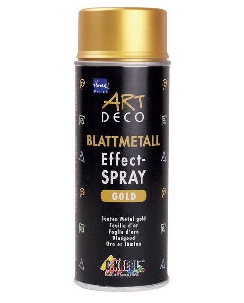 ART DECO Leaf Metal Effect-Spray Gold (400ml)