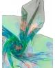 Šilkinė skarelė(Chifon 3,5) 90x90 cm