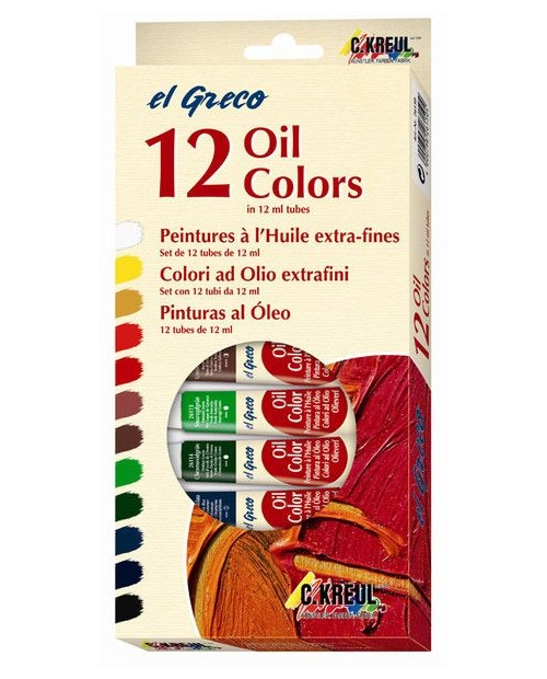 el Greco Oil Painting Set of 12