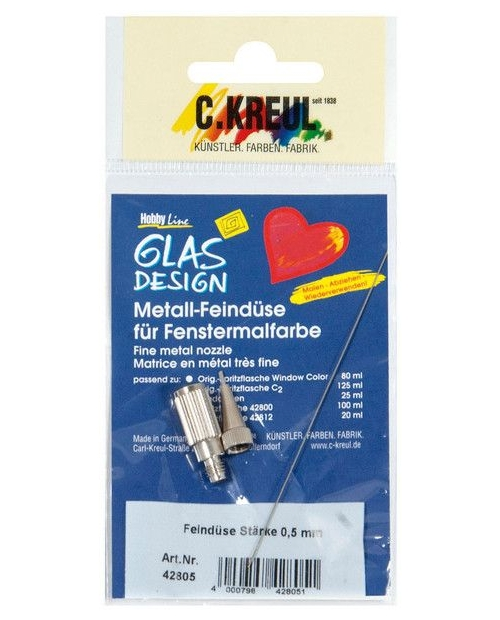 Glas Desing fine metal tips