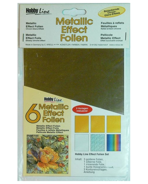 "Metallic effect foil set ""Classic"""