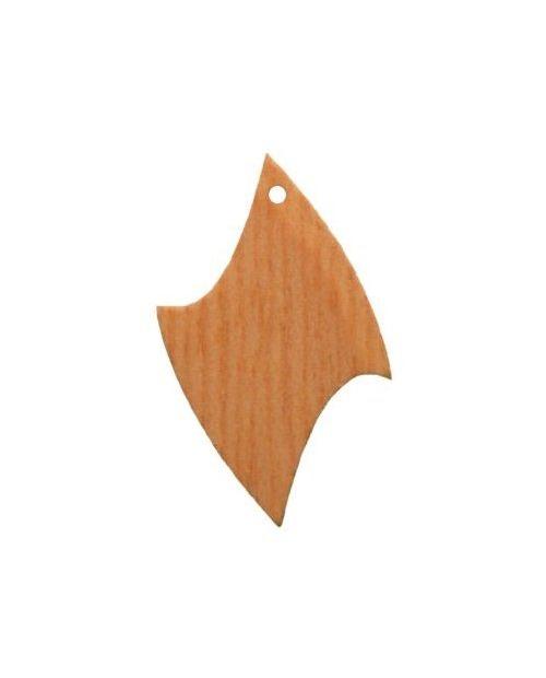 mediniai auskarų pagrindai 2.5cm x 4.0cm 1vnt.