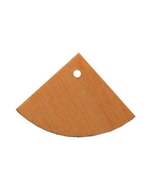 mediniai auskarų pagrindai 3.5cm x 2.5cm 1vnt.