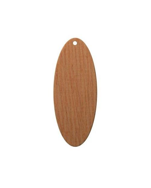 mediniai auskarų pagrindai 2.0cm x 5.0cm 1vnt.