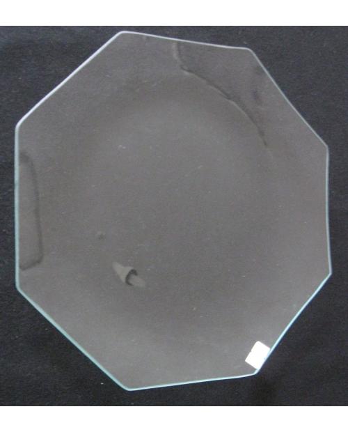 Stiklinė lėkštė (organinis stiklas), aštuonkampė 30cm