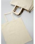 Natūralios spalvos skalbtos medvilnės maišeliai (100% nebalinta medvilnė) 24x28m