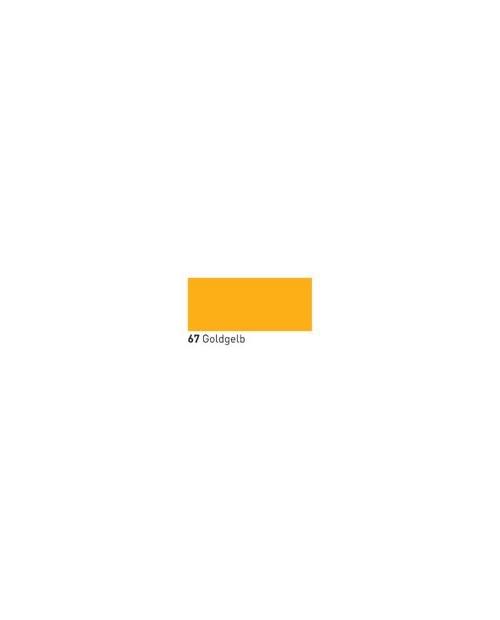 """Dažai tamsiai tekstilei """"OPAK"""" aukso geltona 20ml (Golden Yellow)"""