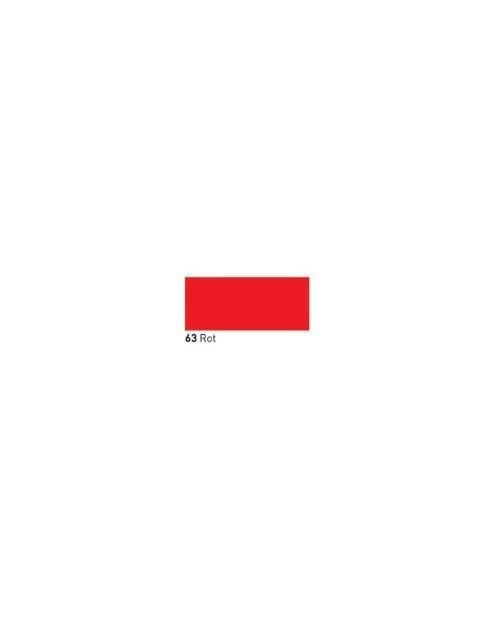 """Dažai tamsiai tekstilei """"OPAK"""" raudona 50ml (Red)"""