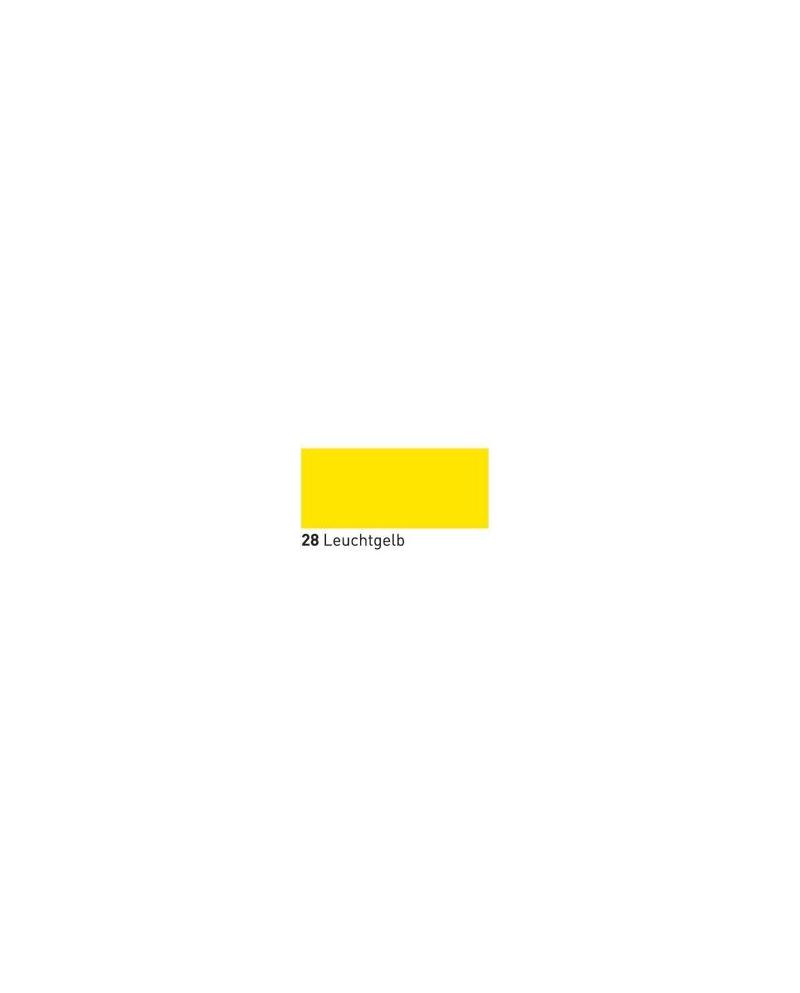 Neone švytintis dažai tekstilei 20ml Fluor. Yellow