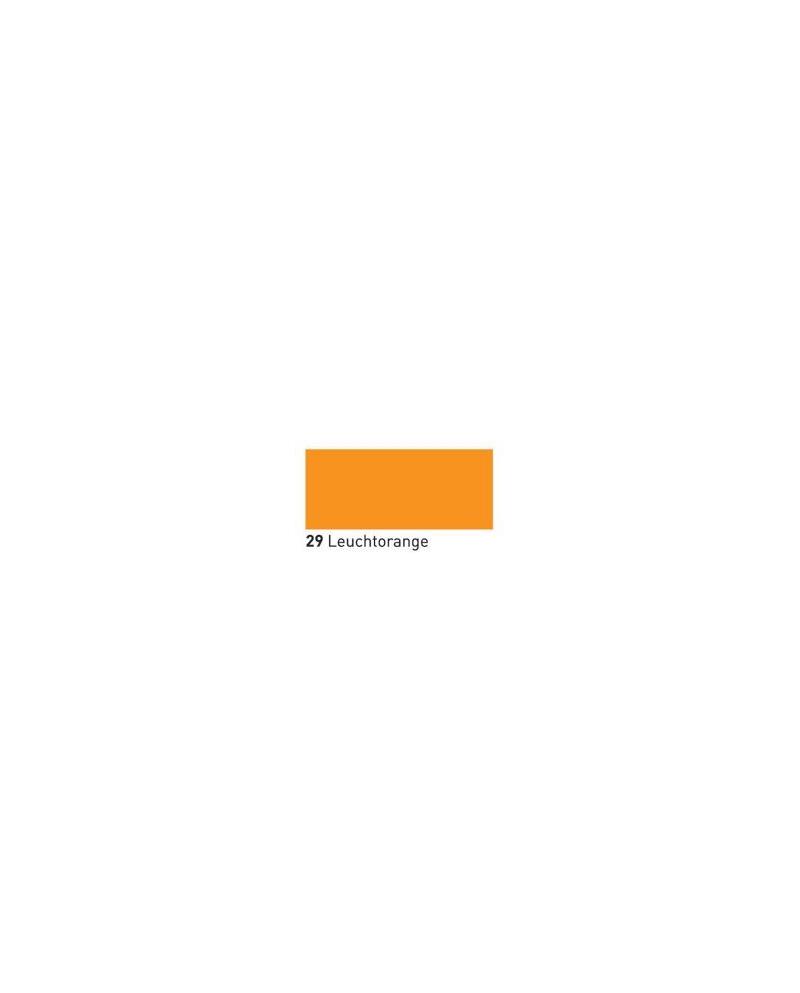 Neone švytintis dažai tekstilei 20ml Fluor. Orange