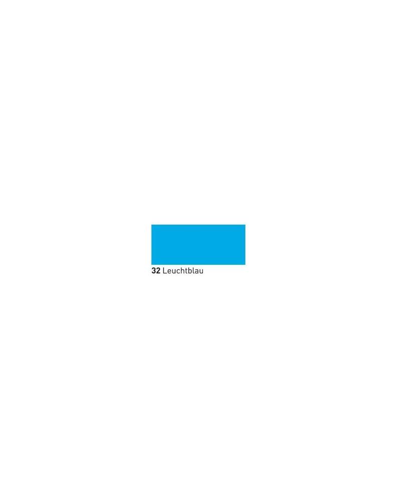 Neone švytintis dažai tekstilei 20ml Fluor.Blue
