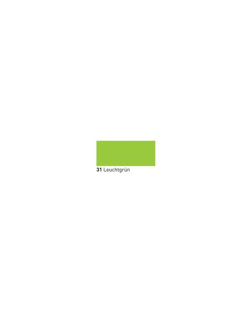 Neone švytintis dažai tekstilei 20ml Fluor. Green