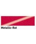 "Dažai tekstilei su ""metalo"" efektu, raudona 20ml (Red)"