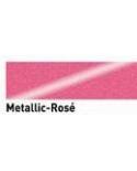 """Dažai tekstilei su """"metalo"""" efektu, rožinė 20ml (Rose)"""