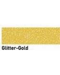 """Dažai tamsiai ir šviesiai tekstilei su """"blizgučiais"""", auksas 29ml (Gold)"""