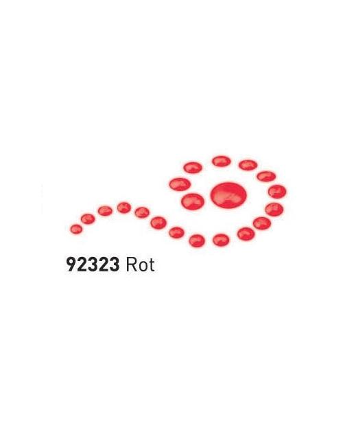 """Dažai tamsiai ir šviesiai tekstilei su """"perlo"""" efektu, raudona, 29ml (Red)"""