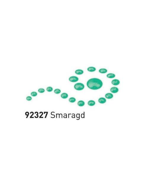 """Dažai tamsiai ir šviesiai tekstilei su """"perlo""""efektu, smaragdinė žalia 29ml (Emerad Green)"""