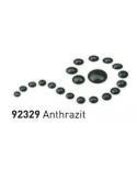 """Dažai tamsiai ir šviesiai tekstilei su """"perlo""""efektu, antracitas, 29ml (Anthracite)"""