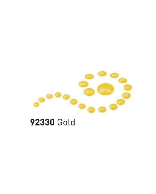 """Dažai tamsiai ir šviesiai tekstilei su """"perlo""""efektu, auksas, 29ml (Gold)"""