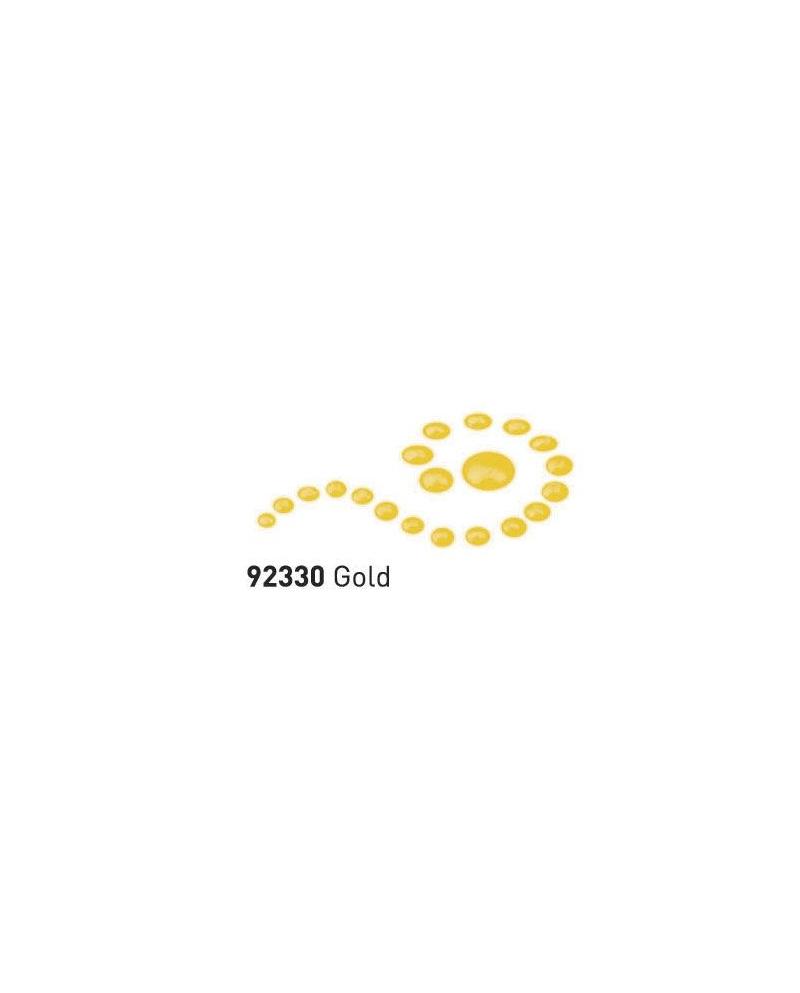 """Dažai tamsiai ir šviesiai tekstilei su """"perlo""""efektu Gold"""