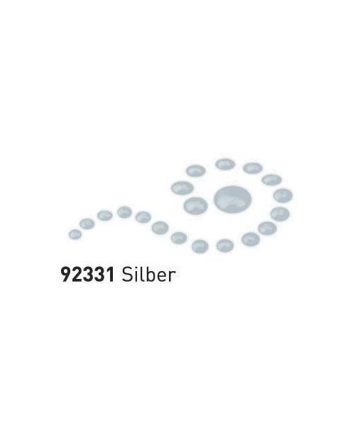 """Dažai tamsiai ir šviesiai tekstilei su """"perlo""""efektu, sidabras, 29ml (Silber)"""