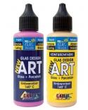 ART dažai stiklui+pocelianui (buteliukas 55ml)