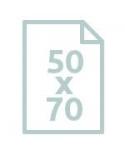 50 x 70 cm